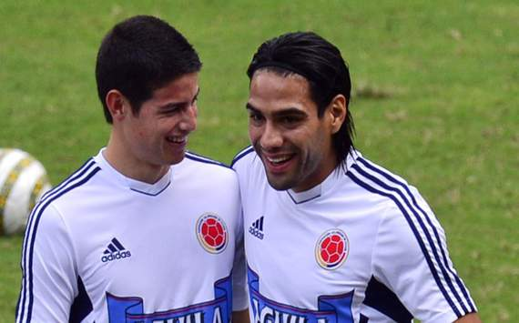 James keen to team up with Falcao at Monaco