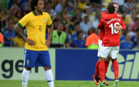 brazil - england at maracana