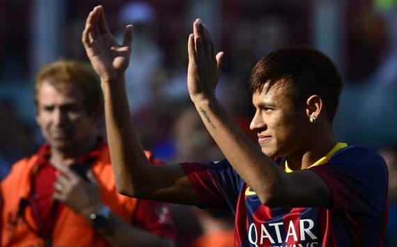 Neymar merasa bahagia dapat bergabung dengan tim impiannya