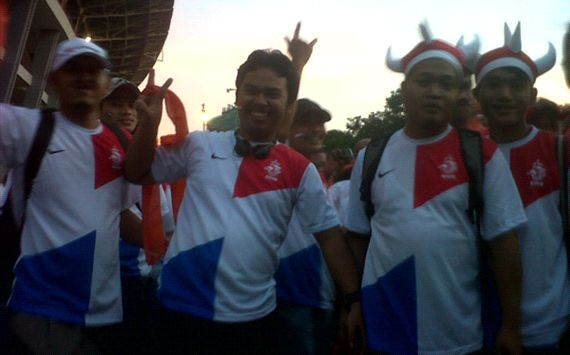 jelang pertandingan persahabatan indonesia vs belanda