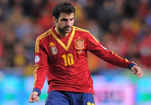 فابرگاس تیم ملی اسپانیا