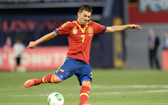 David Villa dice 'No' a la Premier League