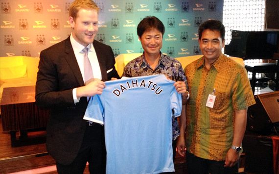 Daihatsu Jalin Kerja Sama Dengan Manchester City