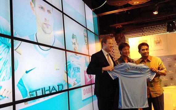 Manchester City belum ada menindaklanjuti pembicaraan mengakuisisi klub Indonesia