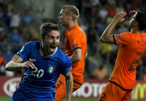 Borini fires Italy into Euro final