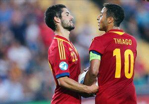 Isco y Thiago