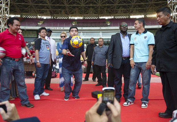 Sejumlah kegiatan Diego Maradona yang sudah disusun mengalami pembatalan