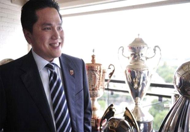 Erick Thohir punya ambisi tinggi untuk Si Biru-Hitam