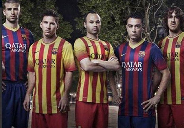 گزارش روز: یک تیم برزیلی و تقلید از پیراهن های بارسلونا