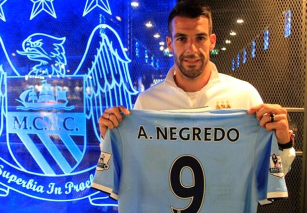 BREAKING NEWS: Manchester City confirm £21.7m Negredo capture