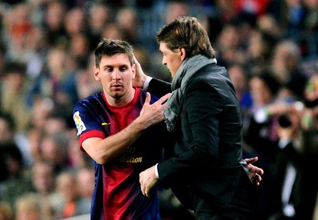 Lionel Messi dukung Gerardo Martino latih Barcelona
