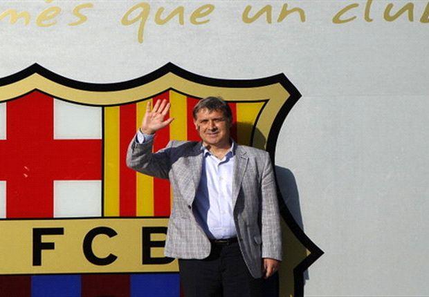 جراردو مارتینو حالا در بارسلوناست