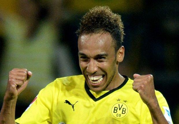 Aubameyang, striker andalan Dortmund yang baru