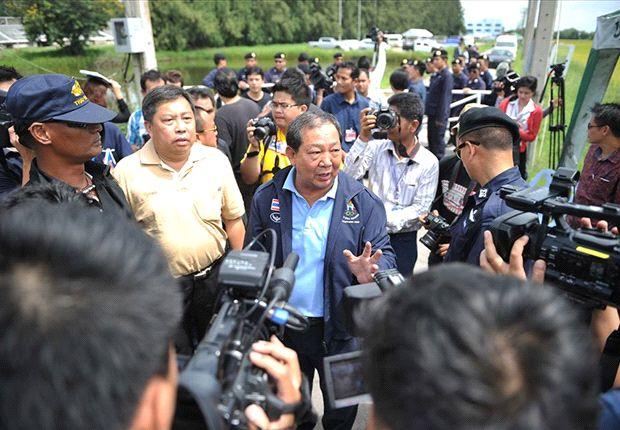 วิรัช ชาญพานิชย์ ตัวแทนกลุ่มปฏิวัติฟุตบอลไทย ภาพจาก Goal.com