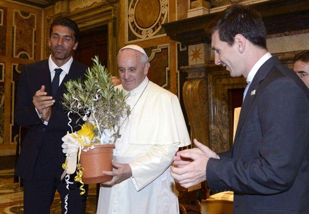 مسی: آشناشدن با پاپ، اتفاقی فراموش نشدنی است