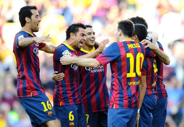 گزارش تصویری: عکس رسمی باشگاه بارسلونا با حضور نمایندگان قطرایرویز