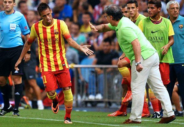 Tata Martino Senang Dengan Perkembangan Neymar