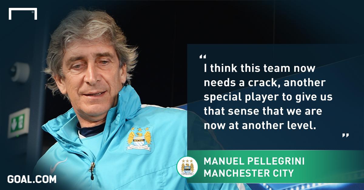 Manuel Pellegrini has no regrets over prioritising Champions League