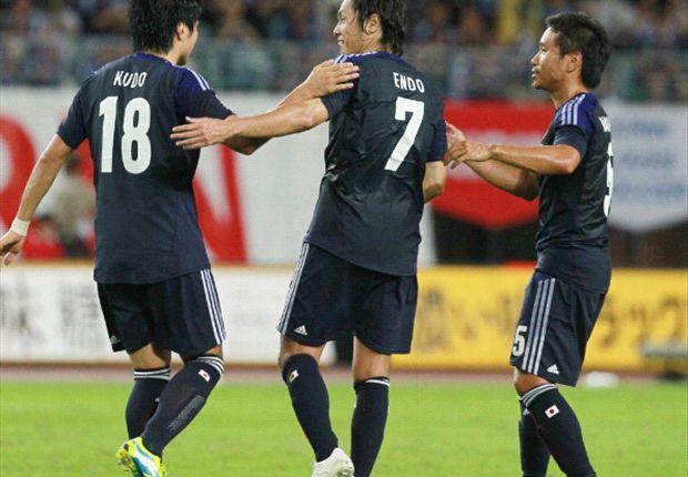 El seleccionado japonés