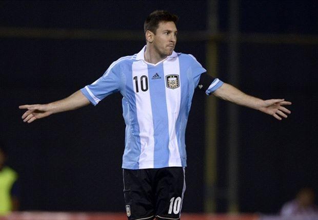 گزارش روز-  مسی: سرود ملی آرژانتین را می خواندندتا بگویند که من وطن پرست نیستم