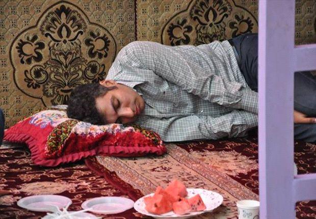 عادل در خواب خرگوشی!+عکس