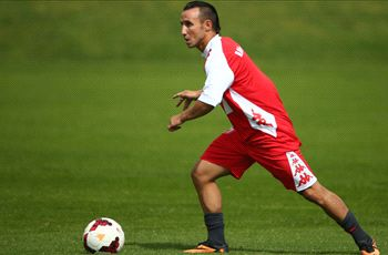 Michael Mifsud trains with Heart