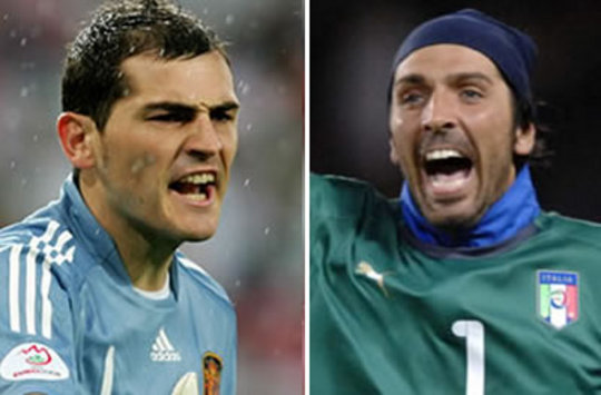 Casillas or Buffon: Who is the world's greatest goalkeeper?