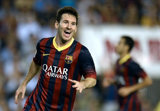 Messi targets Raul's Champions League record