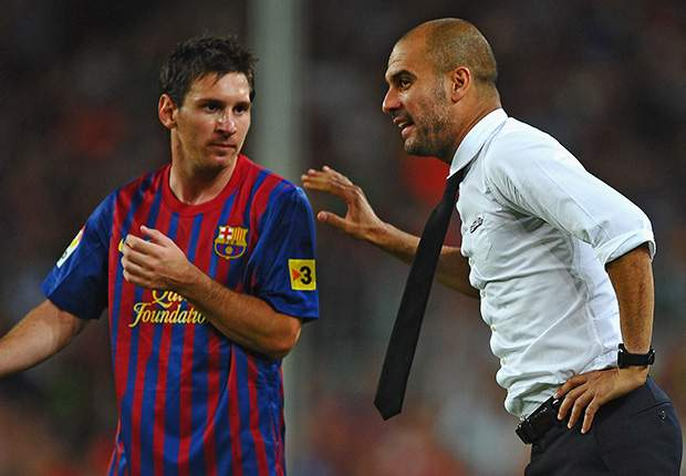 'Messi defied Guardiola in front of Barcelona team-mates'