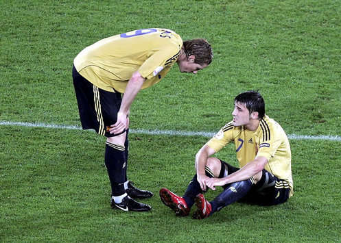 Villa Set To Miss Euro 2008 Final