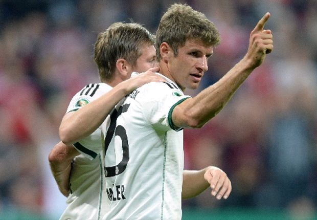 Relentless Bayern crush Hannover