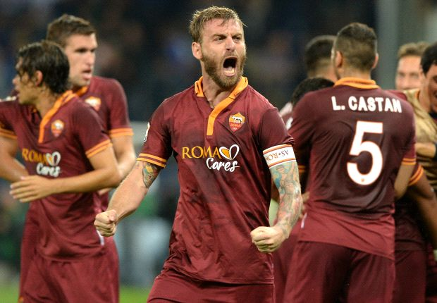 De Rossi absent from Italy squad