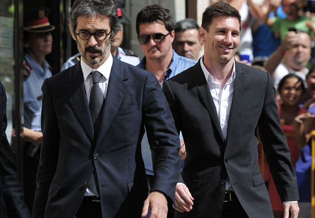 Messi evidence 'clear and transparent'