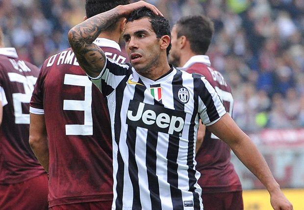 Tevez bị sốc vì sự khắc nghiệt của Serie A