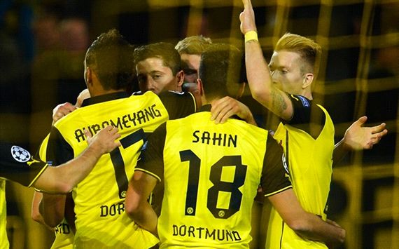 Borussia Dortmund vs Marseille 3-0 All Goals & Highlights Champions League 1/10/2013