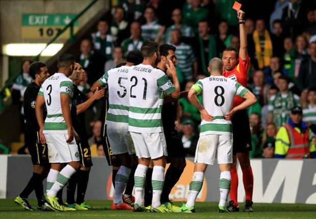 Brown or Neymar: Who is to blame for Celtic red card?
