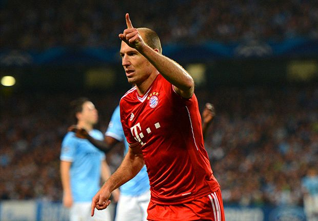 Robben: I didn't expect Man City to be so easy