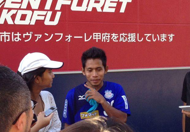 Performa Andik Vermansah mendapat pujian dari pelatih tim utama Ventforet Kofu
