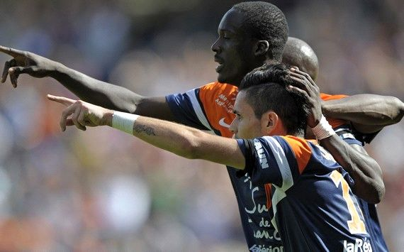 VICTOR MONTANO REMY CABELLA MONTPELLIER LYON LIGUE 1 10062013