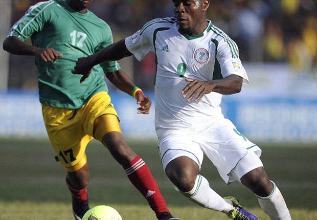 Emmanuel Emenike scored Nigeria's brace in Addis Ababa