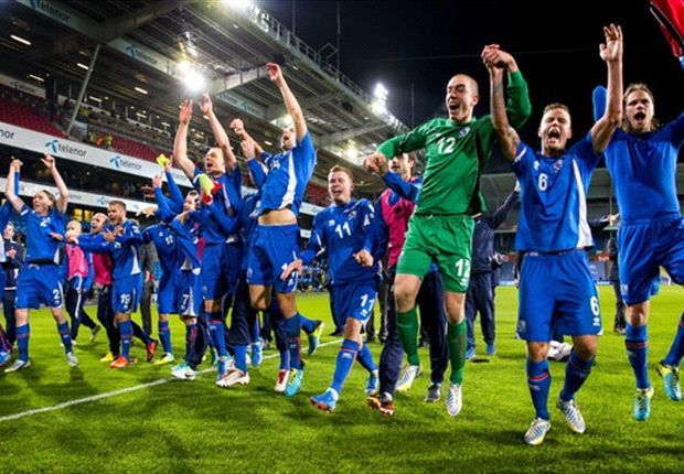 Iceland erupts, Europe quakes: Lars Lagerback leads Nordic nation into play-offs