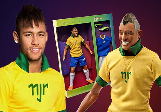 Neymar releases his own doll