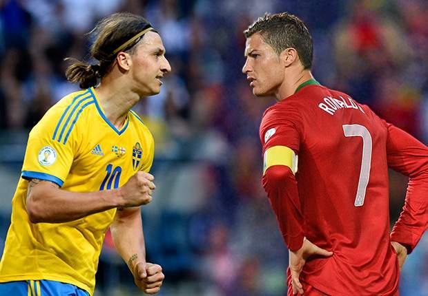 قرعه کشی مرحله پلی آف جام جهانی در منطقه اروپا: زلاتان یا رونالدو؛ یکی در جام جهانی نیست