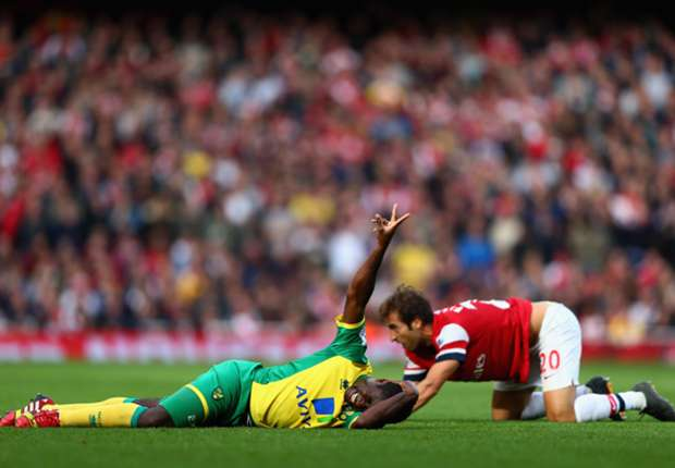 Flamini to miss Borussia Dortmund clash