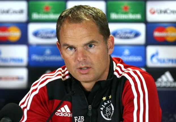 De Boer: We're playing for second place