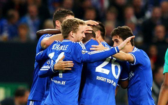 FC Schalke 04 Chelsea FC UEFA Champions League 10222013