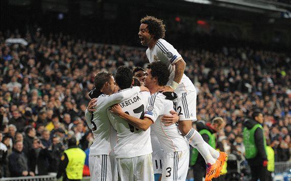 Con CR7 en la tribuna, el Real Madrid goleó