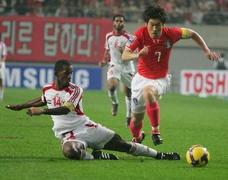 South Korea 4-1 UAE