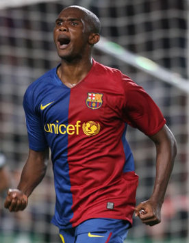 Barcelona's Samuel Eto'o Spurns Opportunity To Join Manchester City  Report