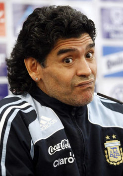 Argentina Boss Diego Maradona Dissatisfied With South African Toilets